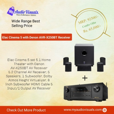 Elac 5.1 Home Theater Package