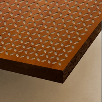 MDF Perforated Acoustical Panel Petals 12 mm(Perfona - M)